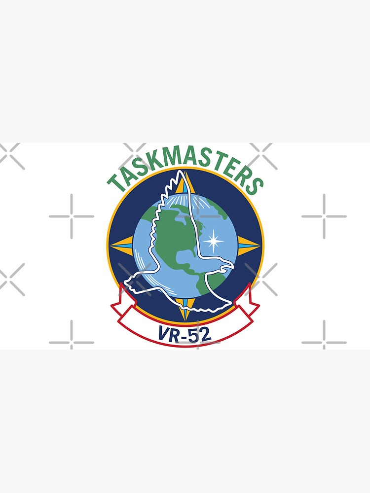 VR-52 Taskmasters Squadron Classic Logo by hobrath