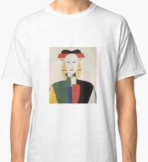 Kazemir Malevich - Girl With A Comb In Her Hair 1933 Classic T-Shirt