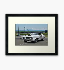 1970 Oldsmobile Cutlass 'Indy Pace Car' Framed Print