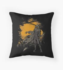 Spice Harvester Throw Pillow