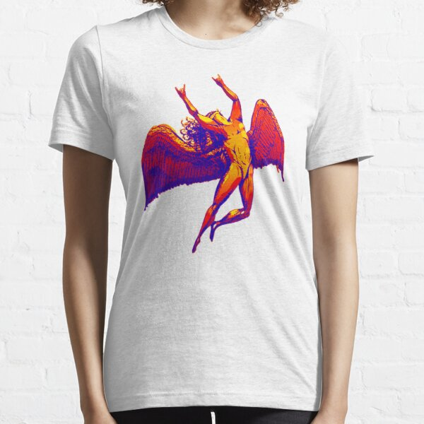Metal   Icarus Trendy   White Background Essential T-Shirt