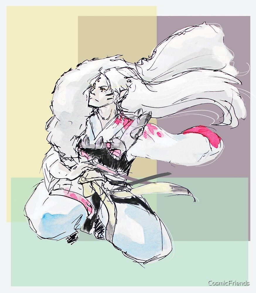 Sesshomaru by CosmicFriends