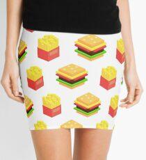Burgers x Fries Mini Skirt