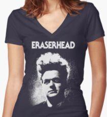 Eraserhead Shirt! Women's Fitted V-Neck T-Shirt