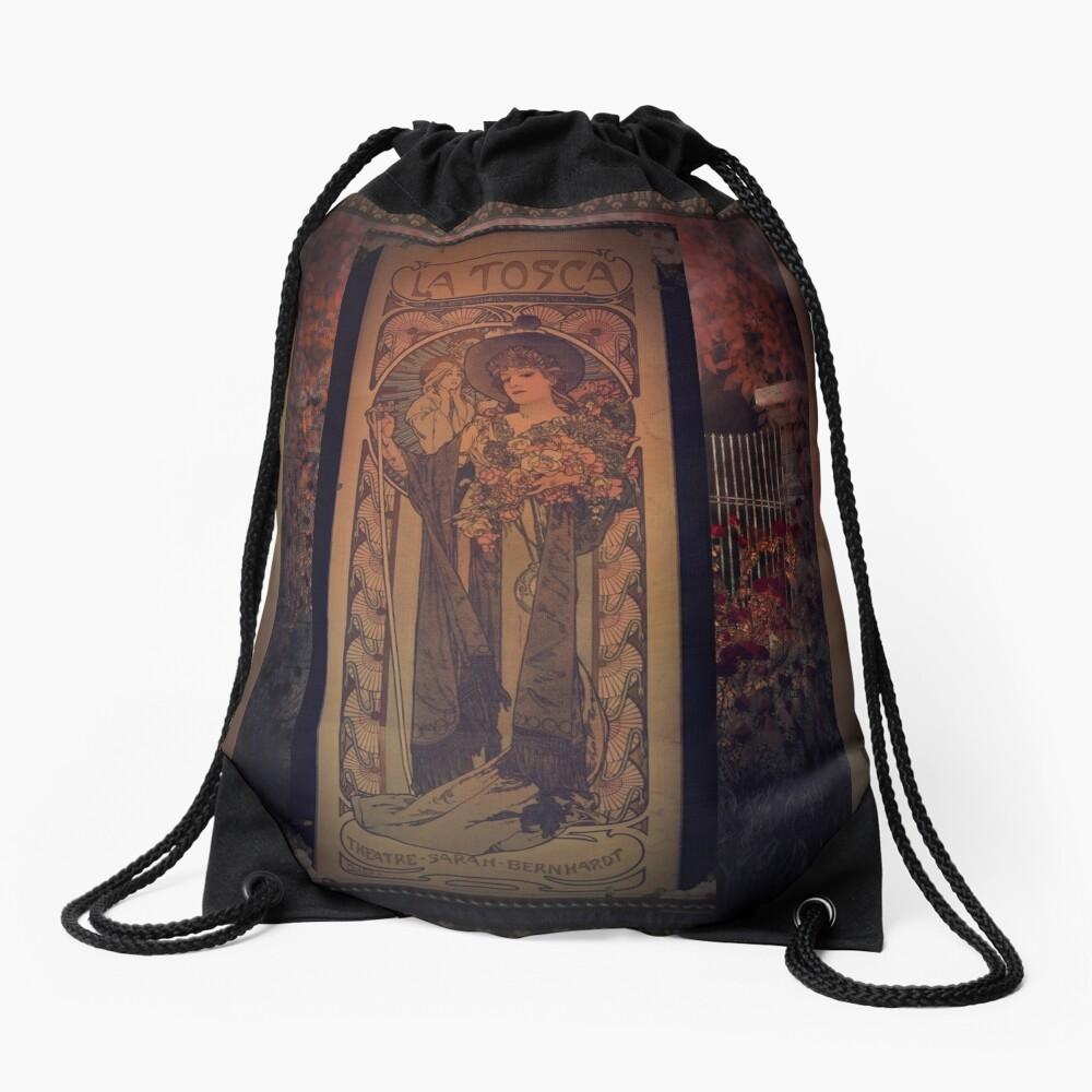 La Tosca Revisited Drawstring Bag