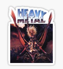 Heavy Metal Movie Sticker