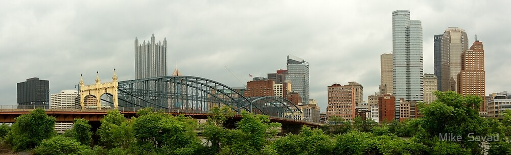 City - Pittsburg PA - The grand city of Pittsburg by Michael Savad