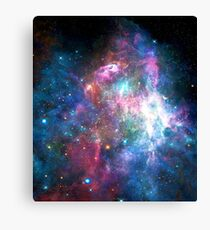Nebula Galaxy Print Canvas Print