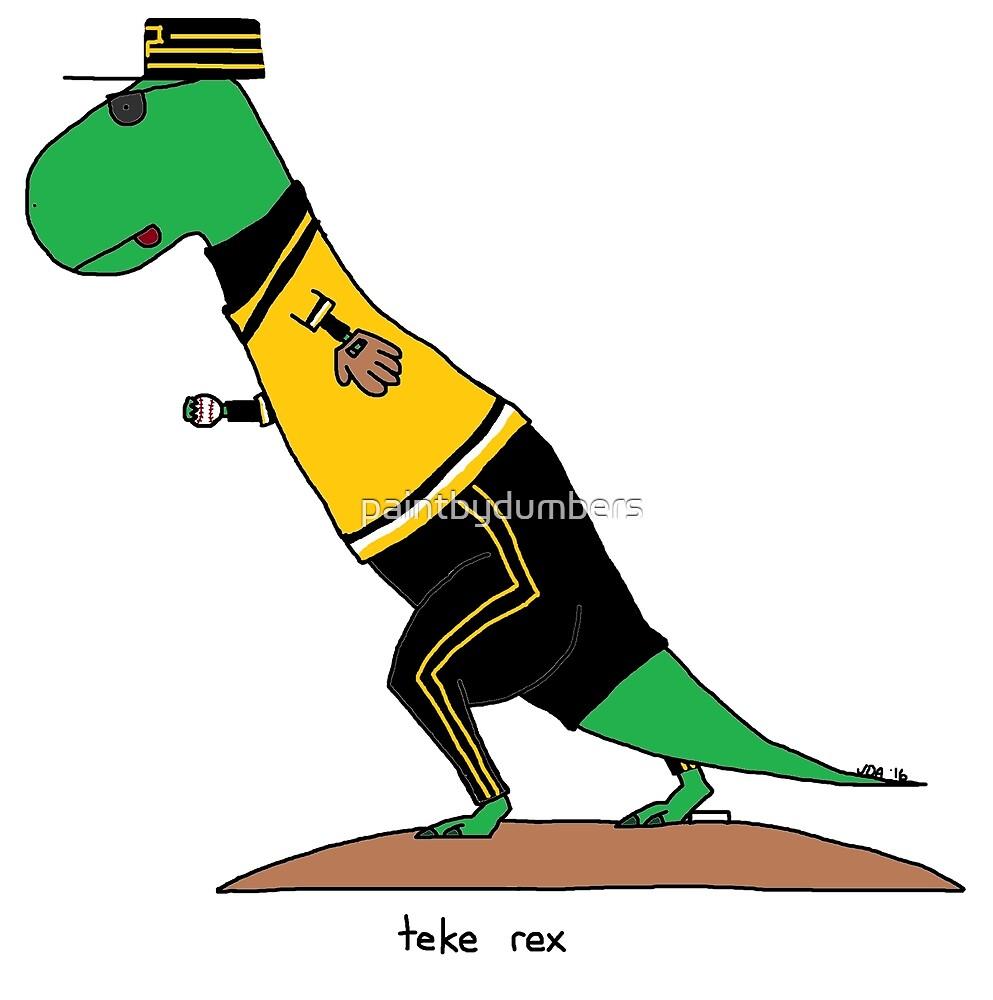 teke rex by paintbydumbers