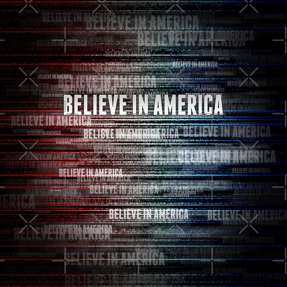 Believe In America by morningdance