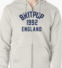 Britpop Zipped Hoodie