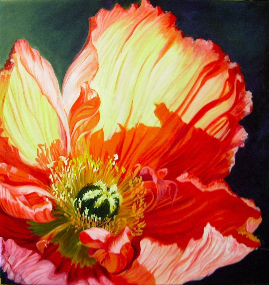 Popping Poppies by Maureen Whittaker