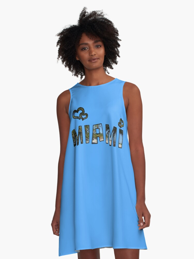 Love Miami A-Line Dress Front
