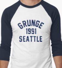 Grunge Men's Baseball ¾ T-Shirt