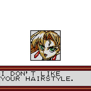 I Don't Like Your Hairstyle by spriteastic