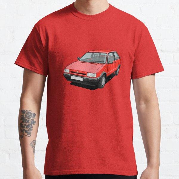 Spanish Supermini - 90s Red Classic T-Shirt