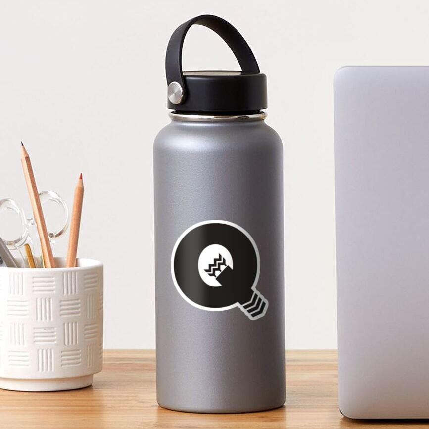 Q is for Quiver - Black Sticker
