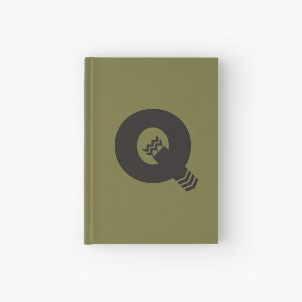 Q is for Quiver - Black Hardcover Journal