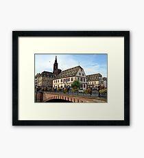 Strasbourg Old Town, France Framed Print