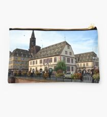 Strasbourg Old Town, France Studio Pouch