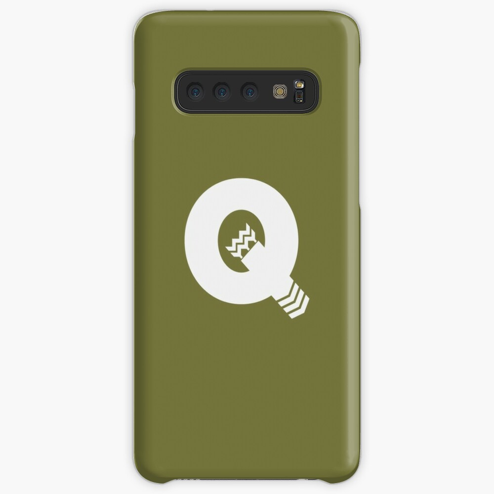 Q is for Quiver - White Case & Skin for Samsung Galaxy