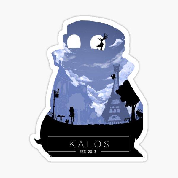 Kalos Region Photographic Print Sticker