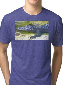 American Alligator Tri-blend T-Shirt