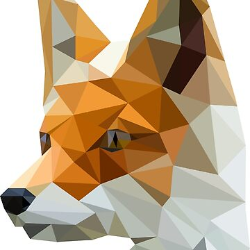Low poly fox by MaeP