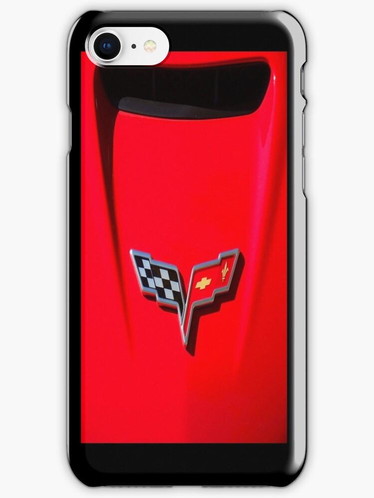 Little Red Corvette Case by Ronald Hannah