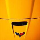 Little Yellow Corvette Case by Ronald Hannah