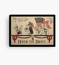 Honor the Brave WWI Canvas Print
