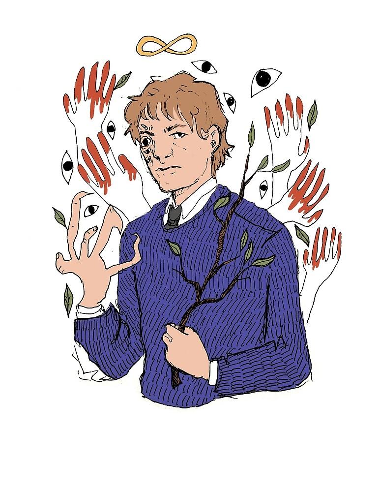 The Magician by weirdzebrathing