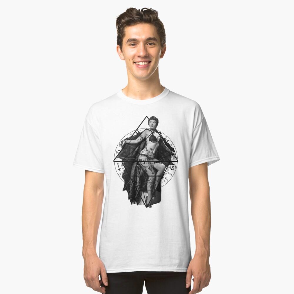 The Vampire White Classic T-Shirt Front