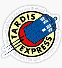 Tardis Express Sticker