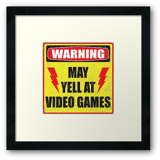 Gamer Warning by buzatron
