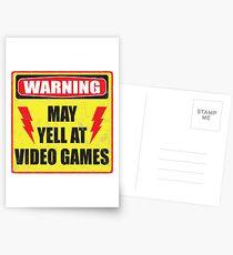 Postales Advertencia del jugador