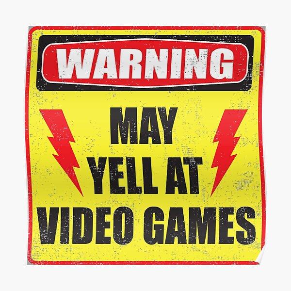 Advertencia de jugador Póster