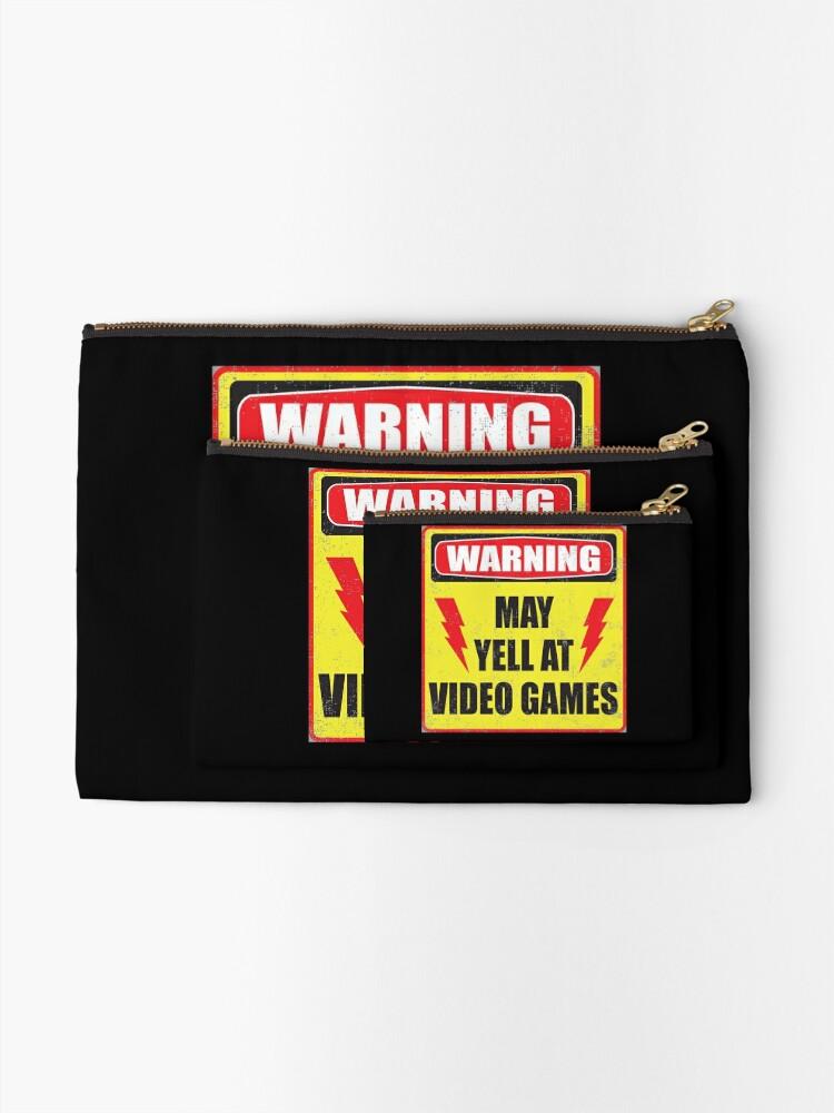 Alternative Ansicht von Spielerwarnung Täschchen