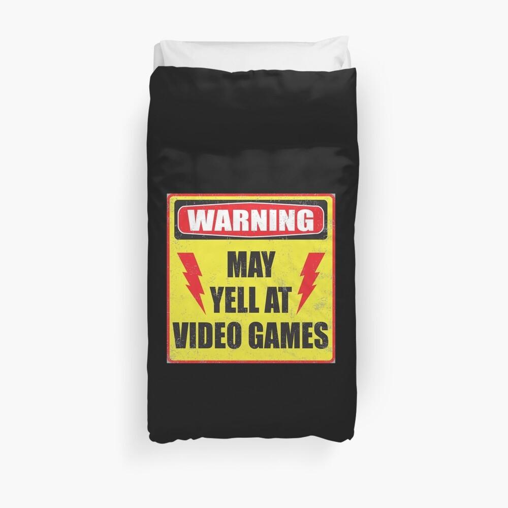 Spielerwarnung Bettbezug