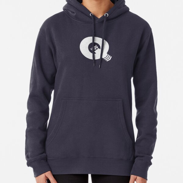 Q is for Quiver - White Pullover Hoodie
