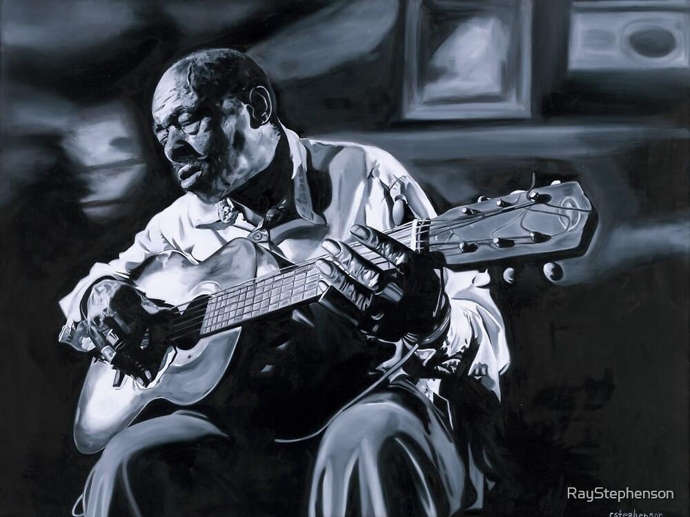 Blues man by RayStephenson