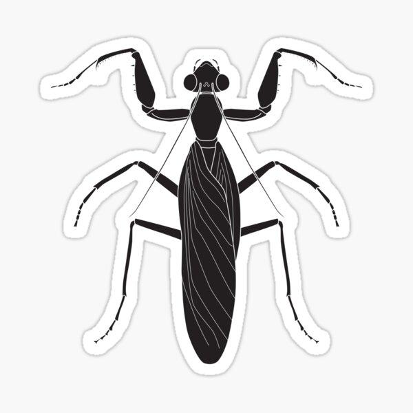 A Halloween Mantis Sticker