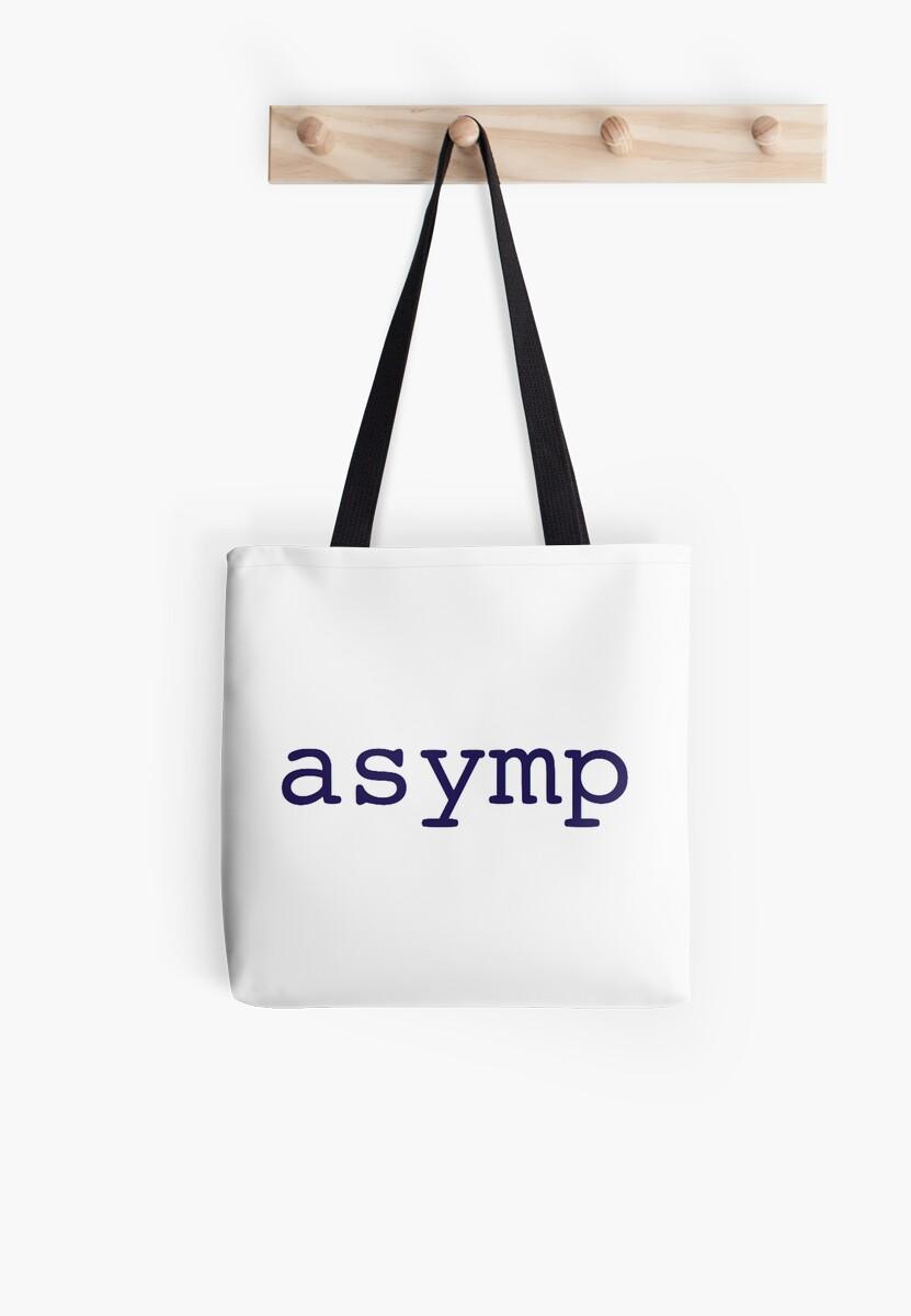 Asymp-Tote Bag by emdog103