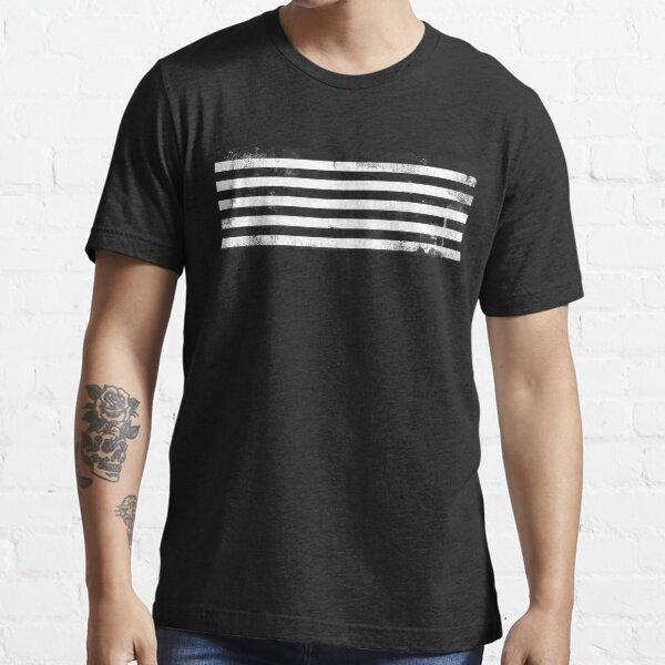 BigBang MADE Distressed Logo (white ver) Essential T-Shirt