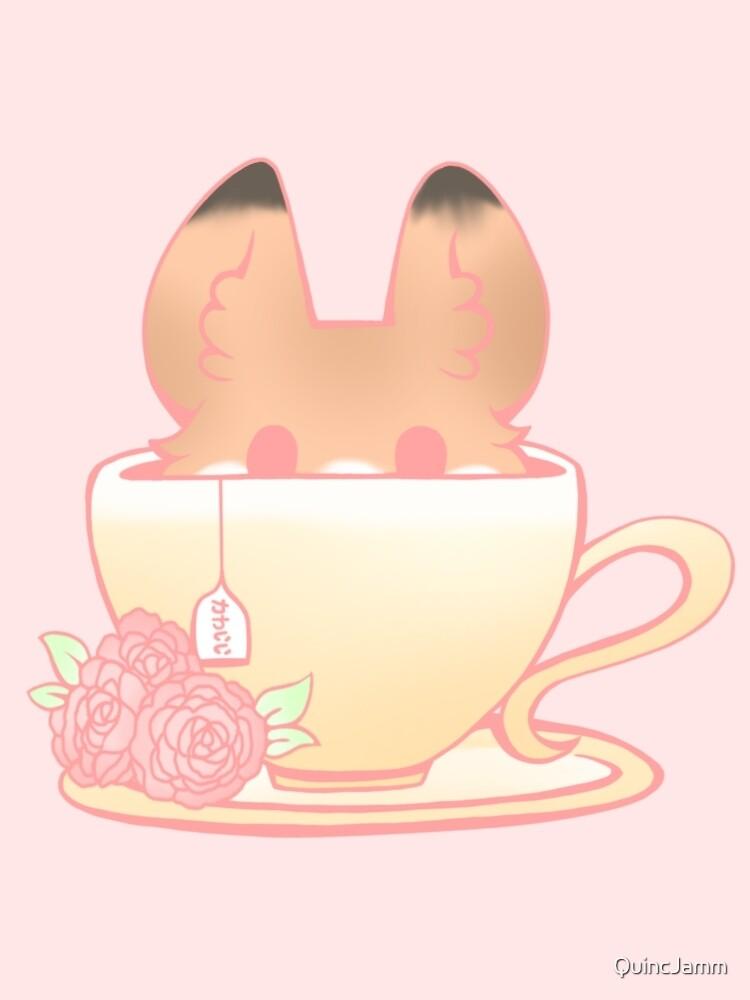 Teacup Fox by Estelle Collins