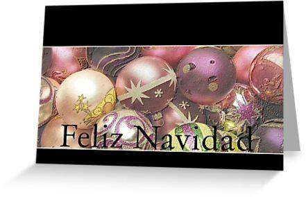 Feliz Navidad -  Spanish Christmas card by Sabbia-Natale