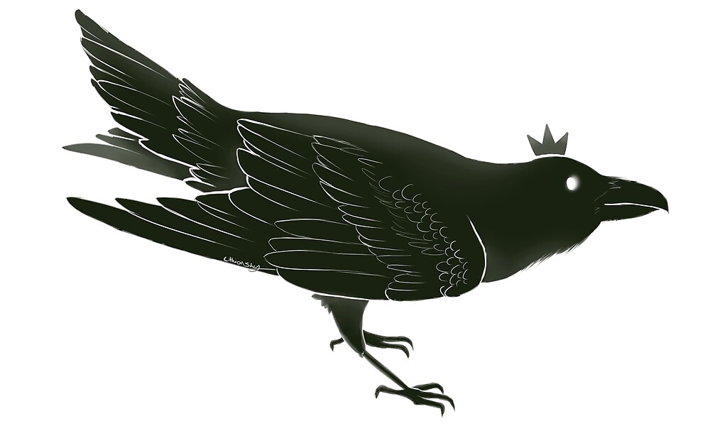 The Raven King by lithionSky