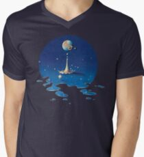 Time - Electric Light Orchestra Men's V-Neck T-Shirt
