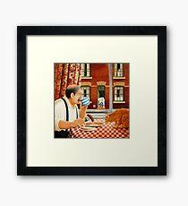 Arthurs Morning. Framed Print
