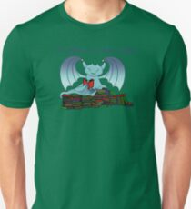 I'd Rather be a Book Dragon Unisex T-Shirt